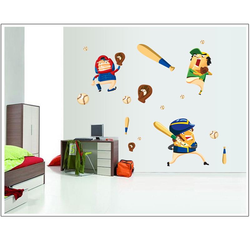 Removable DIY Colorful Wall Stickers for Kids