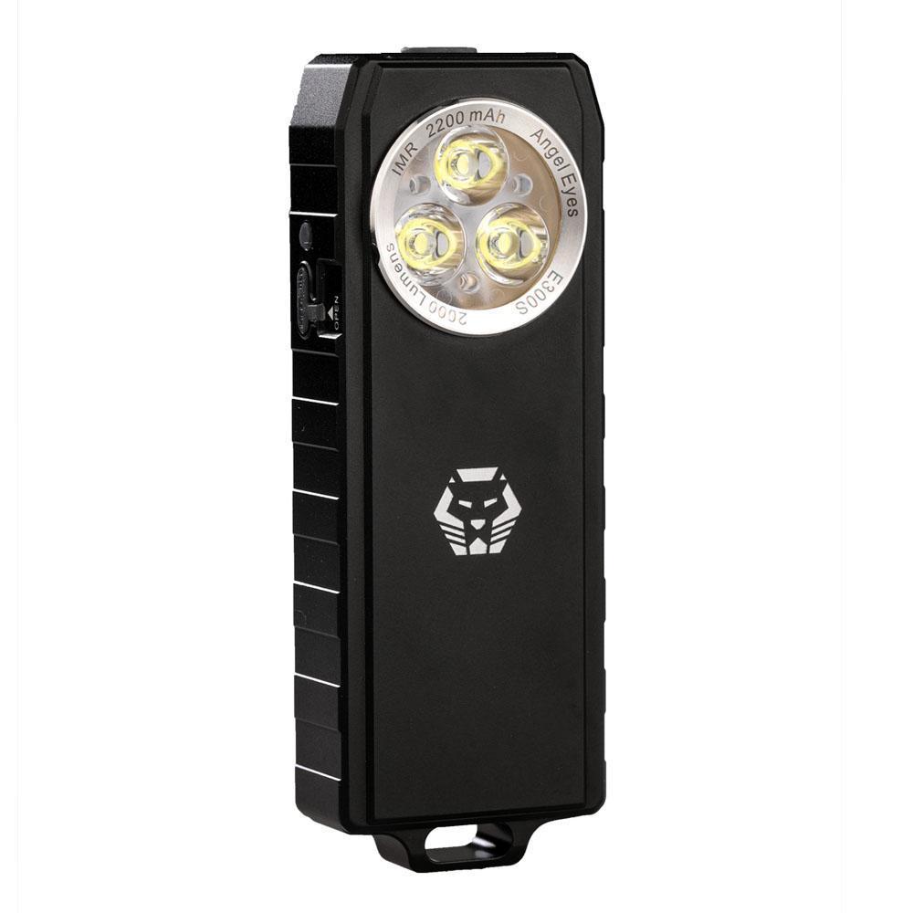 RovyVon Angel Eyes E300S 2000LM Powerful EDC Keychain Light Mini LED Flashlight