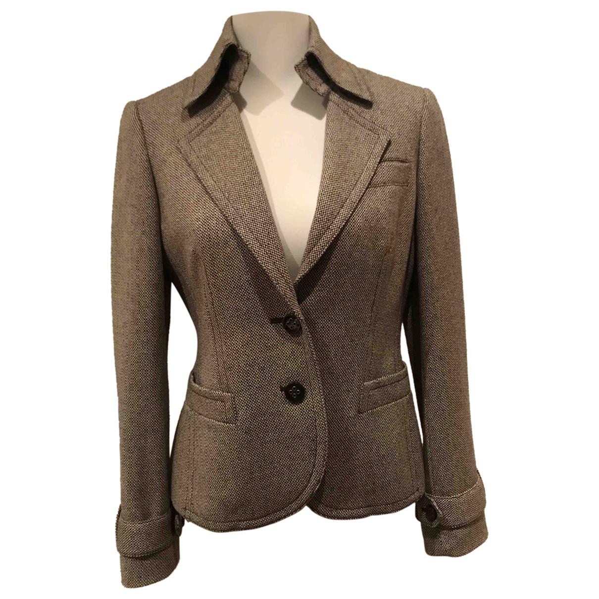 Esprit N Brown Tweed jacket for Women 40 FR