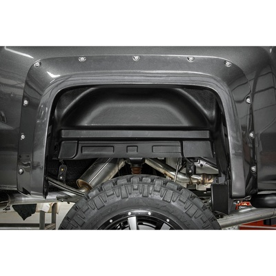 Rough Country Rear Wheel Well Liners (Black) - 4215