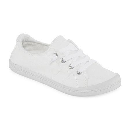 Pop Highbar Womens Sneakers, 9 1/2 Medium, White