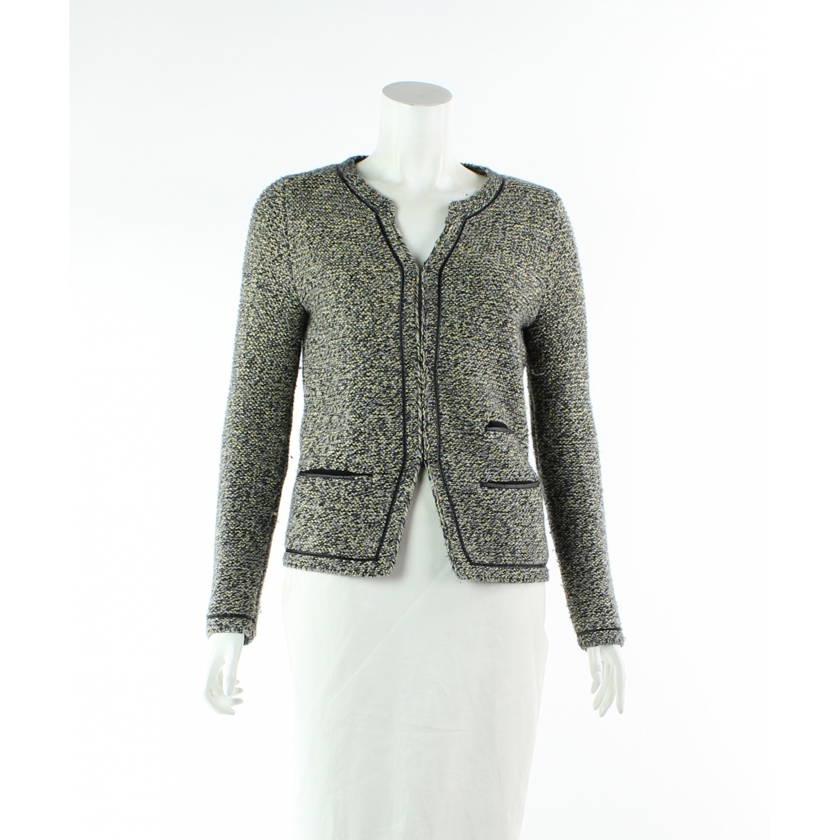 Maje \N Multicolour Wool jacket for Women 32 FR