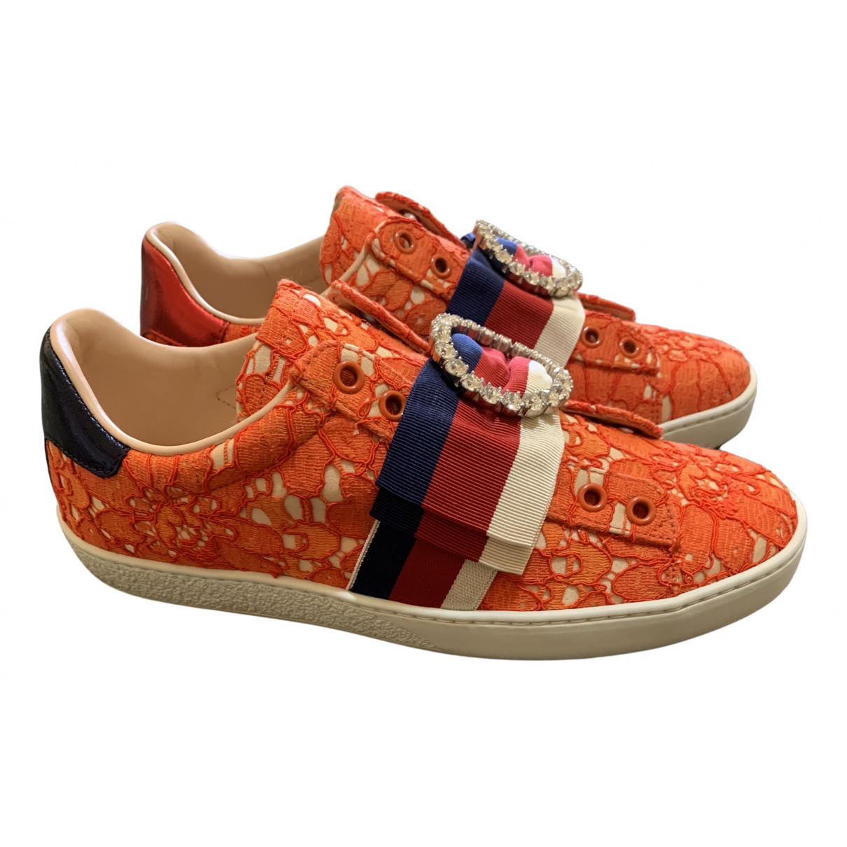 Gucci - Baskets   pour femme en tweed - multicolore