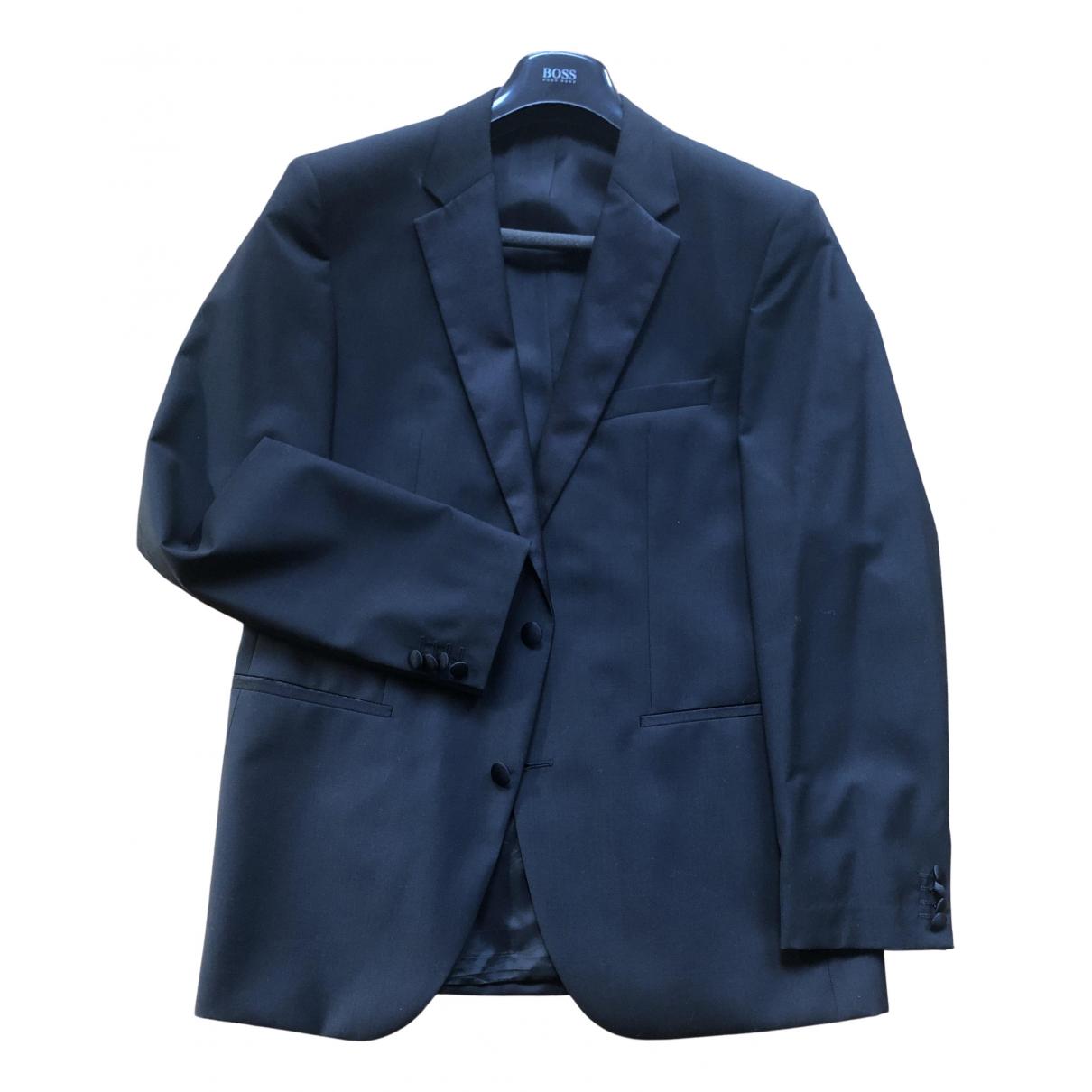Hugo Boss - Costumes   pour homme en laine - noir
