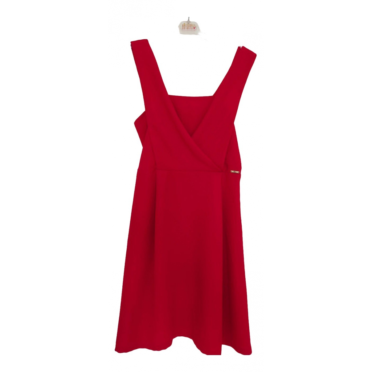 Non Signé / Unsigned \N Red Cotton dress for Women 42 IT