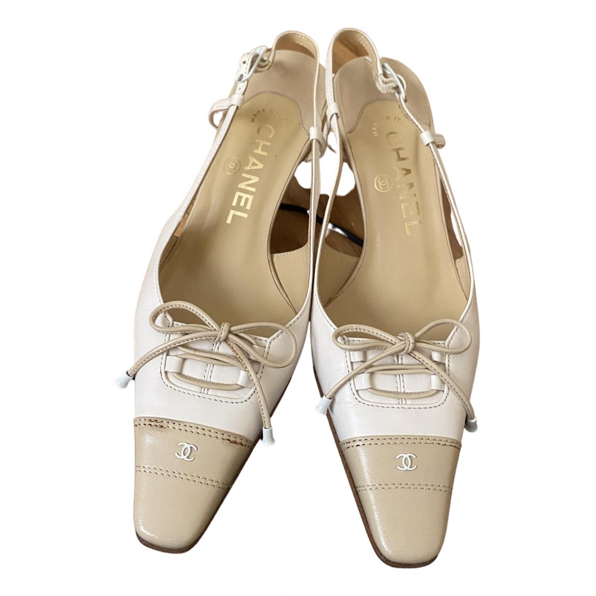 Chanel N Multicolour Leather Heels for Women 35.5 EU