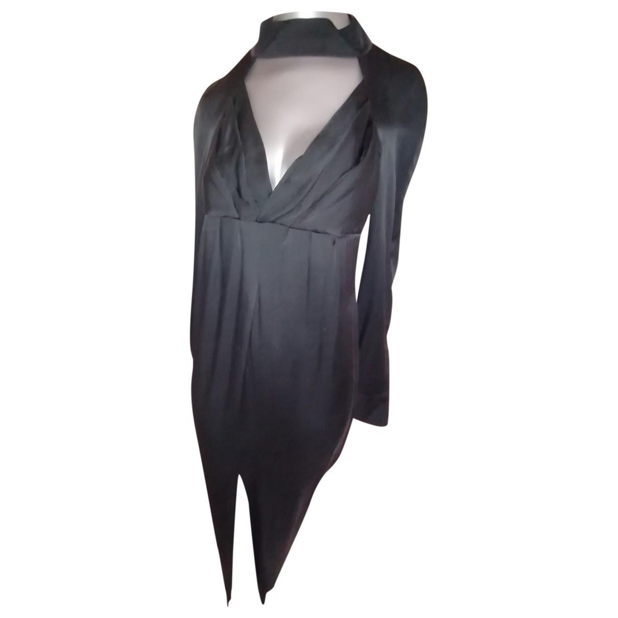 Chanel \N Black Silk dress for Women 42 FR