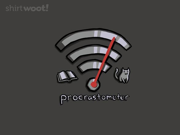 Procrastometer V2 T Shirt