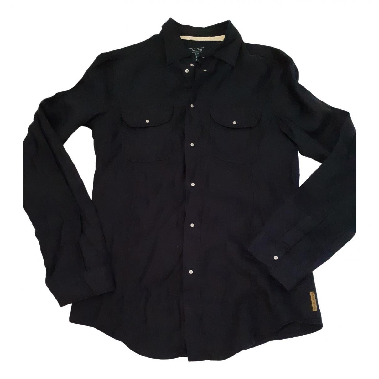 Camisas de Lino Armani Jeans