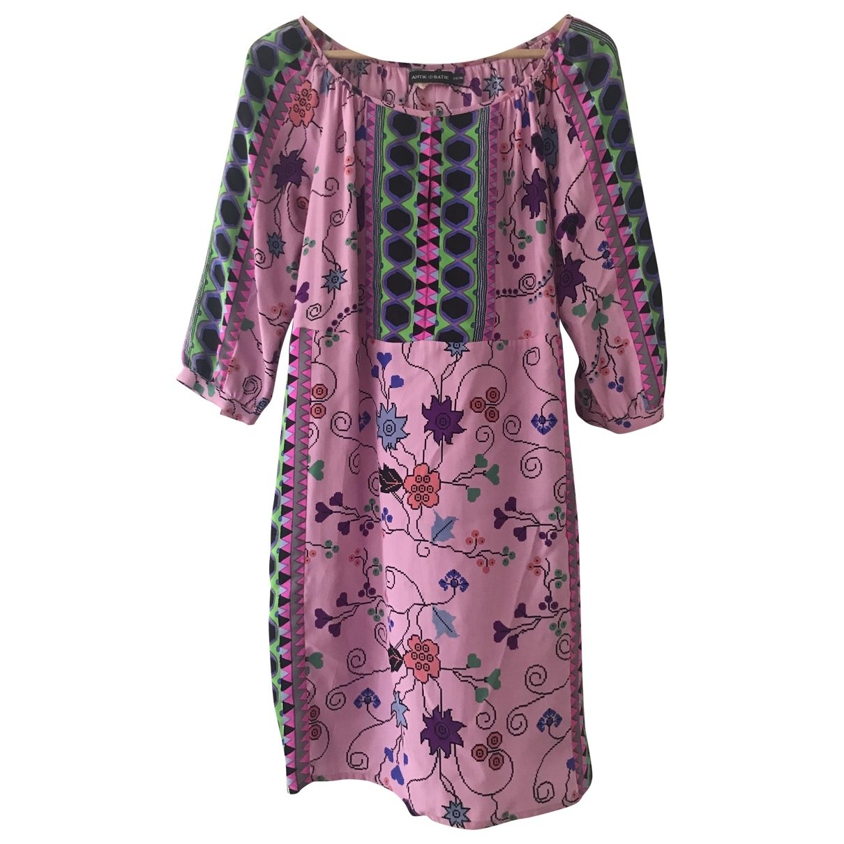 Antik Batik \N Multicolour Silk dress for Women XS International