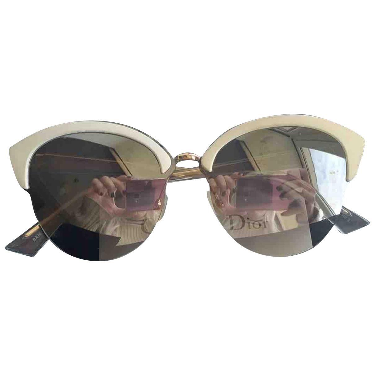 Dior \N White Sunglasses for Women \N