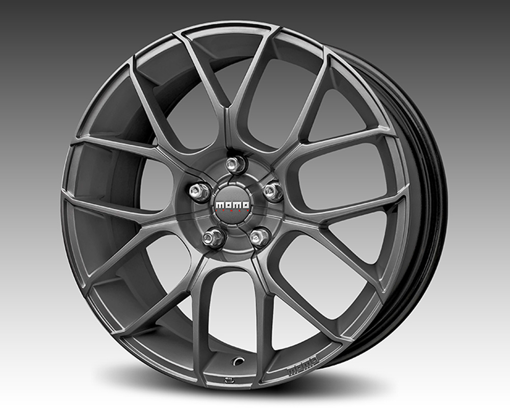MOMO RT75751245A Raptor Matte Anthracite Wheel 17x7.5 5x112 +45mm