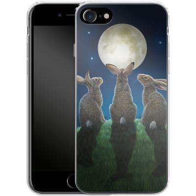 Apple iPhone 8 Silikon Handyhuelle - Moonshadows von Lisa Parker