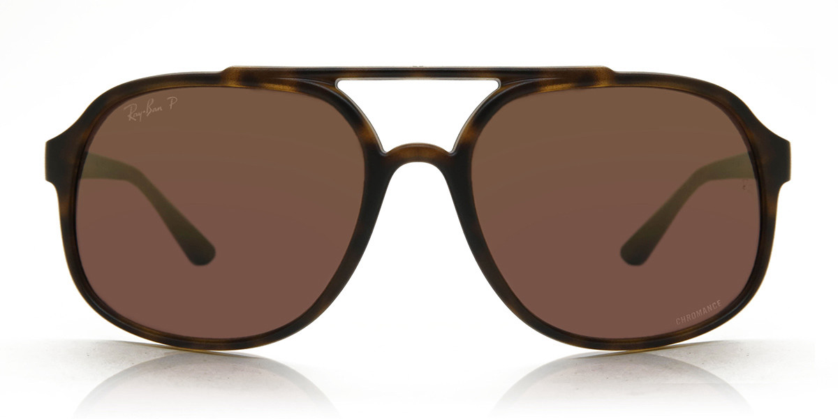 Ray-Ban RB4312CH Polarized 894/6B Mens Sunglasses Tortoise Size 57