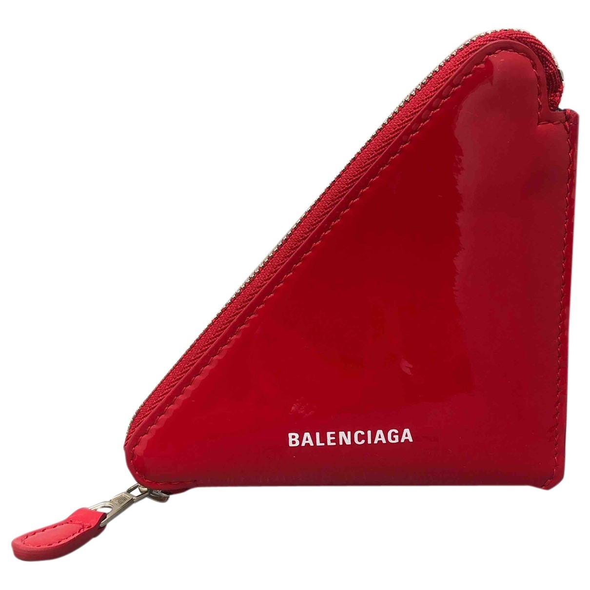 Balenciaga \N Red Patent leather Purses, wallet & cases for Women \N