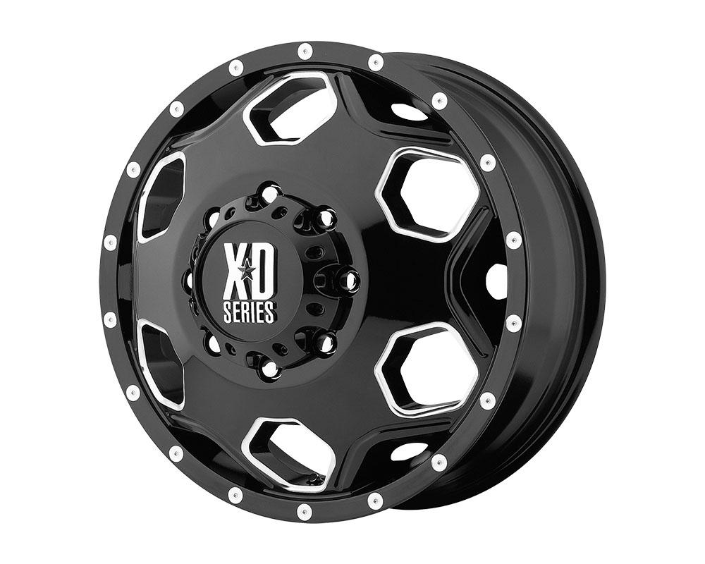 XD Series XD81522890398N XD815 Batallion Wheel 22x8.25 8x8x165.1 -175mm Gloss Black w/Milled Accents