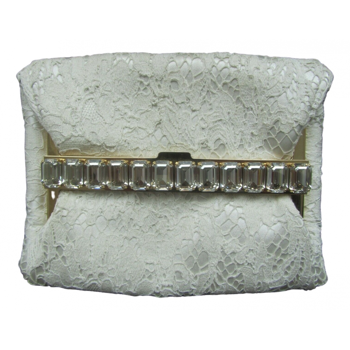 Dolce & Gabbana \N Ecru Cloth Clutch bag for Women \N