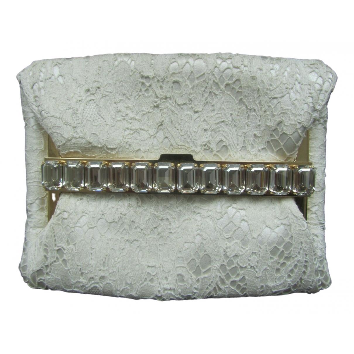 Dolce & Gabbana \N Ecru Cloth Clutch bag for Women \N