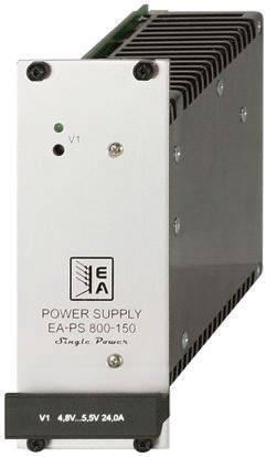 EA Elektro-Automatik , 150W Embedded Switch Mode Power Supply SMPS, 24V dc, Enclosed
