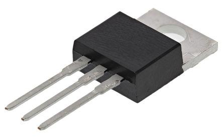 STMicroelectronics T1050H-6I 10A, 600V, TRIAC, Gate Trigger 1V 50mA, 3-pin, Through Hole, TO-220AB (5)