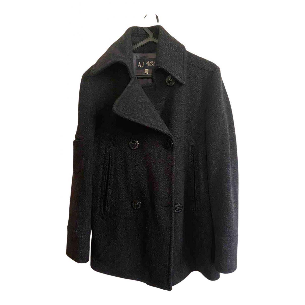 Armani Jean - Manteau   pour femme en laine - gris