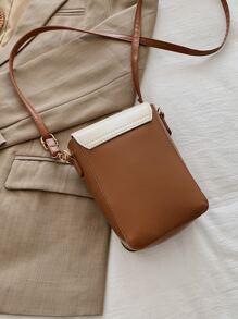 Faux Pear Decor Crossbody Bag