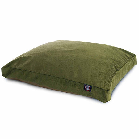 Majestic Pet Villa Collection Rectangle Pet Bed, One Size , Green