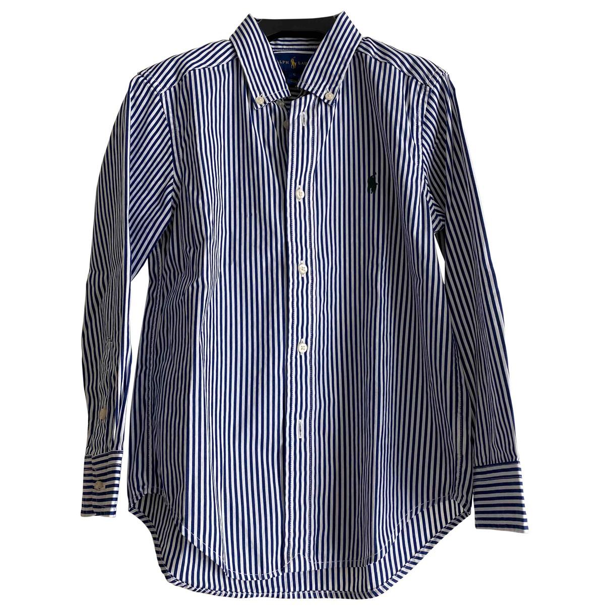 Ralph Lauren - Top   pour enfant en coton - bleu