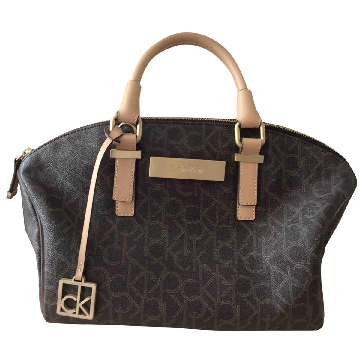 Calvin Klein \N Brown Leather handbag for Women \N