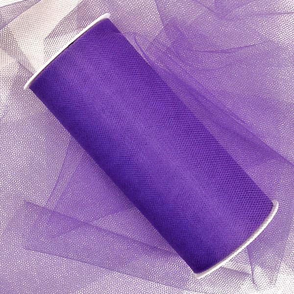Fabric Cloth Purple Bulk Tulle 12