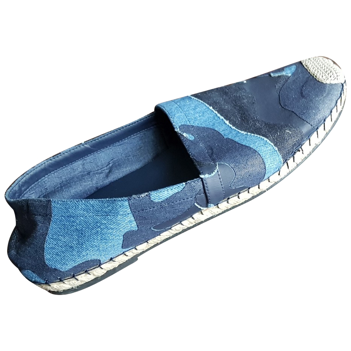 Valentino Garavani - Espadrilles   pour homme - bleu