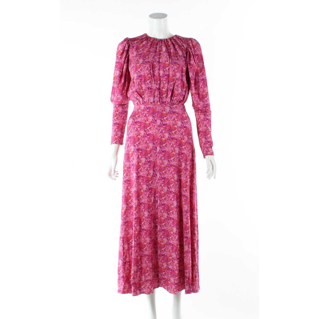 Autre Marque \N Pink Cotton dress for Women 10 UK