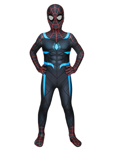 Milanoo Marvel Spider Man Secret Wars Kids Zentai Disfraz de Halloween Cosplay