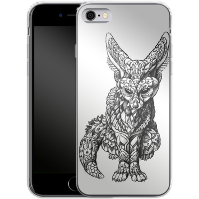 Apple iPhone 6 Silikon Handyhuelle - Fennec-Fox von BIOWORKZ