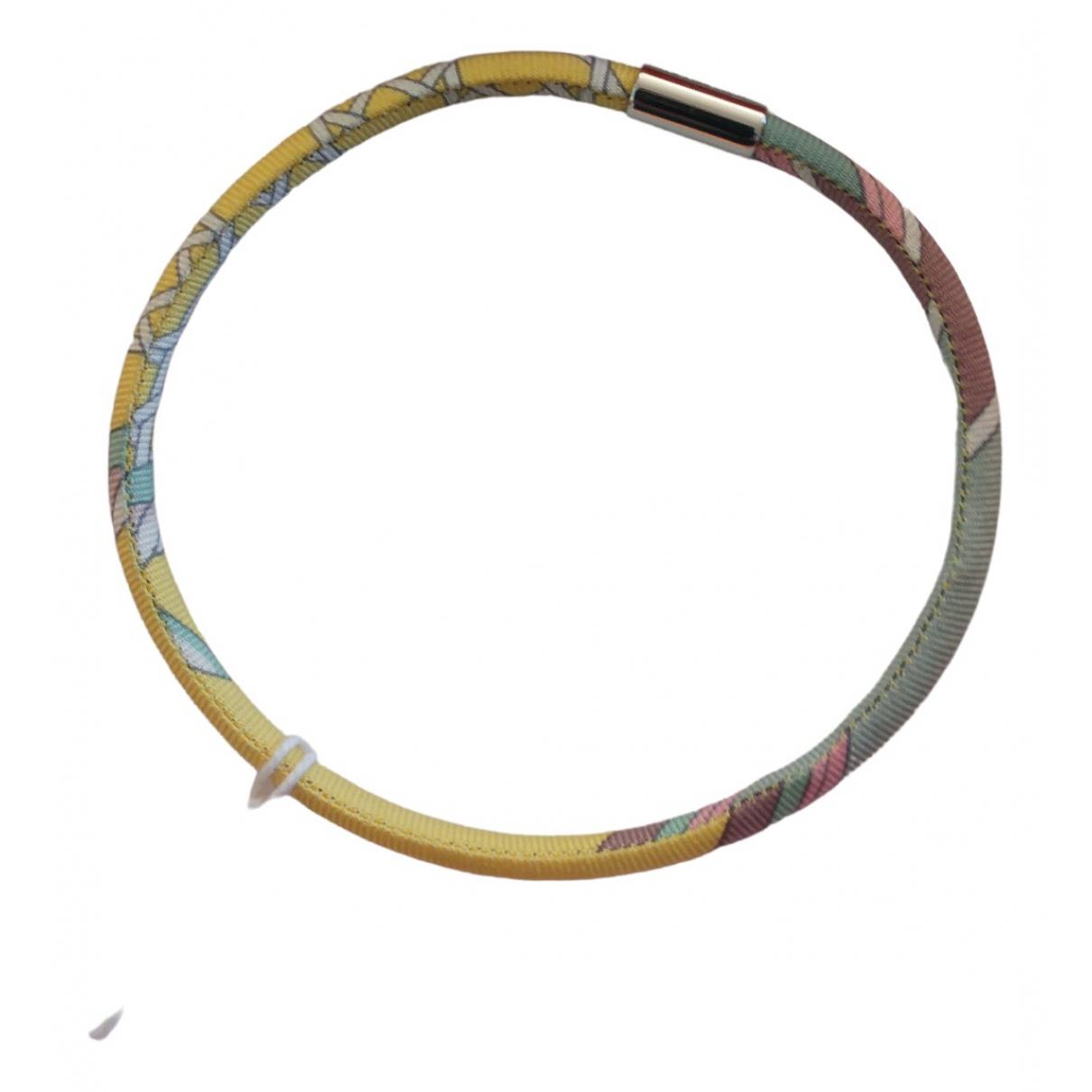 Hermès Petit H Multicolour Silk bracelet for Women \N