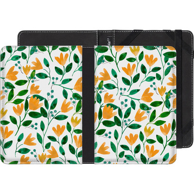 Amazon Kindle Paperwhite 4 (2018) eBook Reader Huelle - Fresh Foliage  von Iisa Monttinen