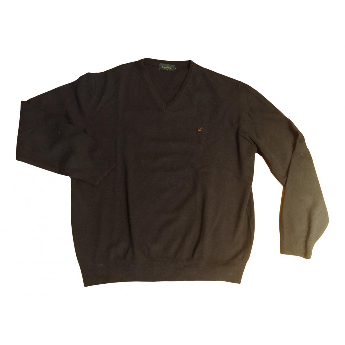 Brooksfield - Pulls.Gilets.Sweats   pour homme en laine - bleu
