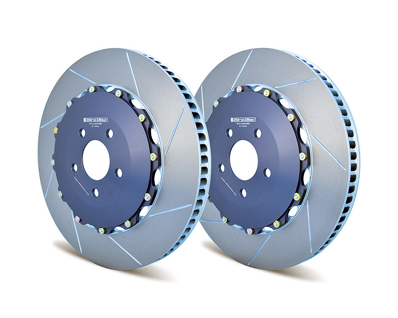 Girodisc A1-034 Front 380mm 2 Piece Rotor Upgrade Audi R8 08-20