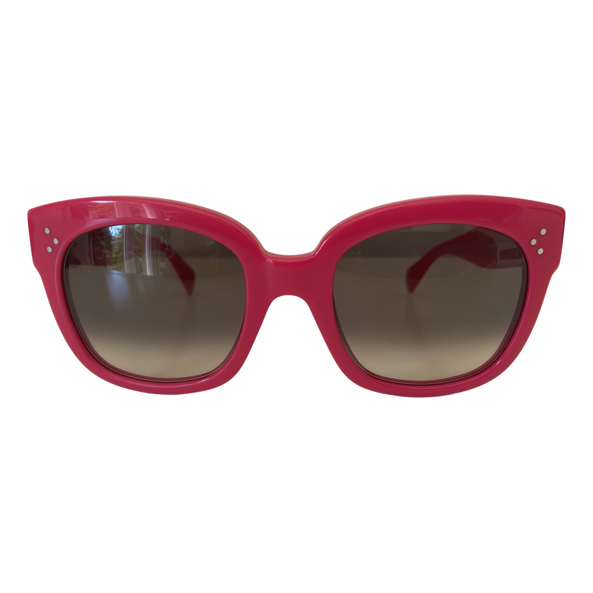 Celine New Audrey Pink Sunglasses for Women \N