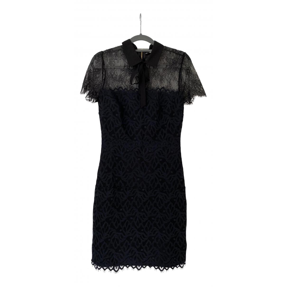 Sandro \N Kleid in  Schwarz Spitze