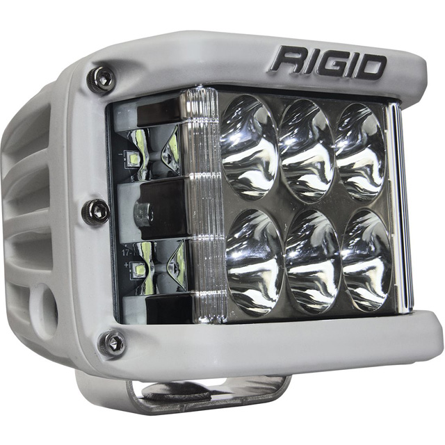 Driving Surface Mount White Housing D-SS Pro RIGID Industries