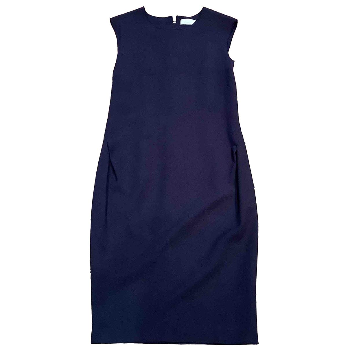 Pinko \N Purple Wool dress for Women 42 IT