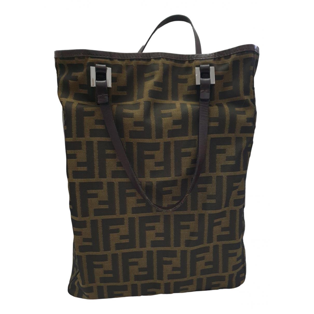 Fendi \N Handtasche in Leinen