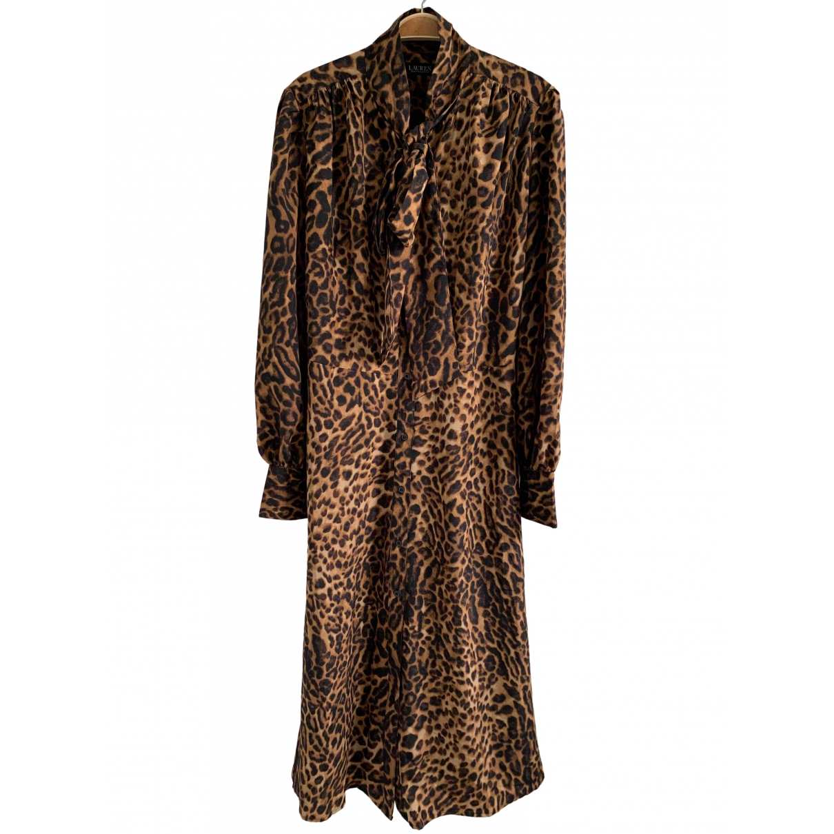Lauren Ralph Lauren \N Kleid in  Braun Polyester