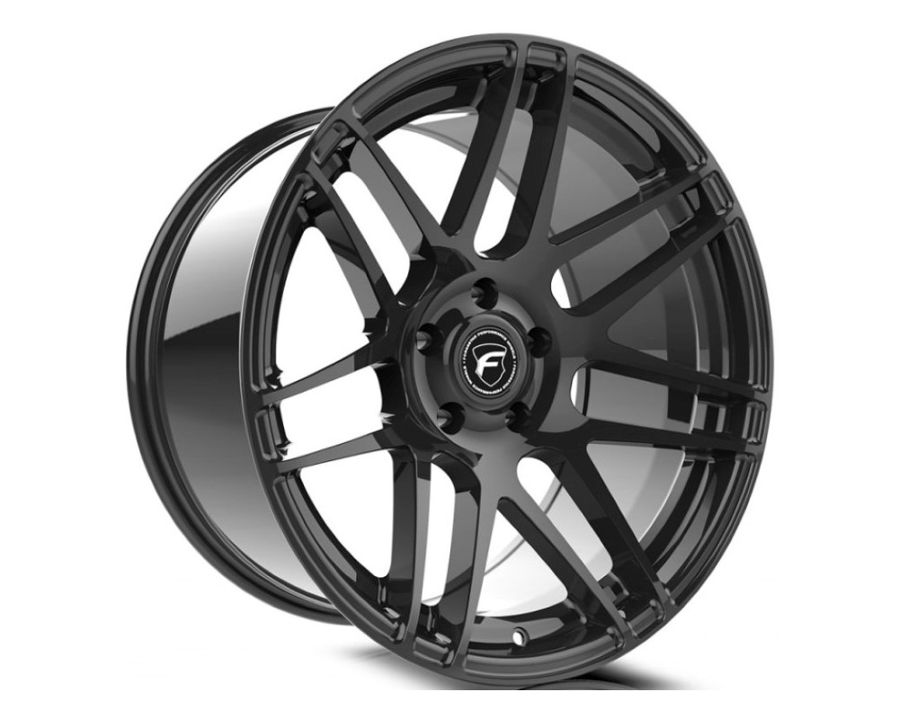 Forgestar F25180066P42 F14 Deep Concave Wheel 18x10 5x114.3 42mm Gloss Black