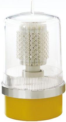 Moflash 32 Candela Red LED Beacon, 230 V ac/dc, Steady, Surface Mount