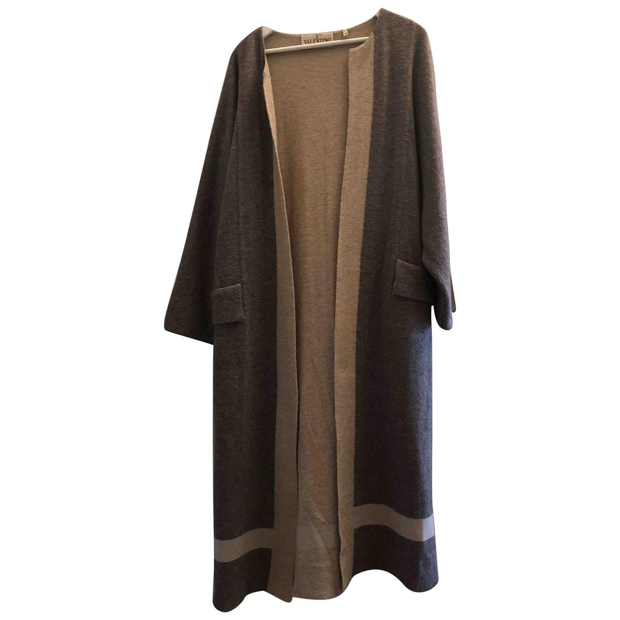 Valentino Garavani \N Grey Cashmere coat for Women M International