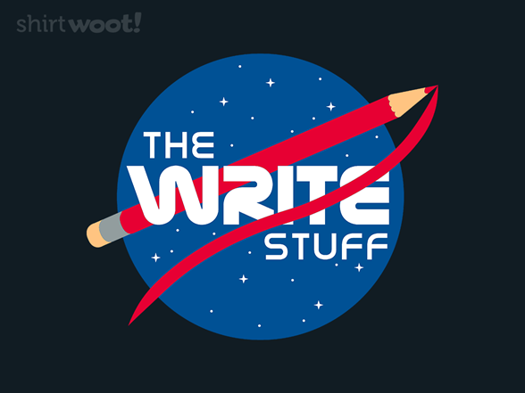 The Write Stuff T Shirt