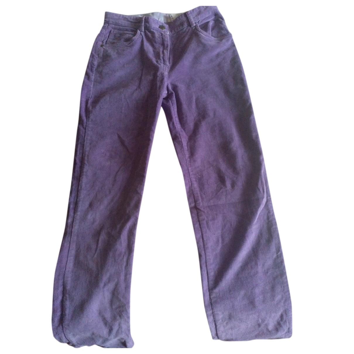Autre Marque - Pantalon   pour enfant en coton - violet