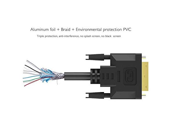 Iczi Dvi Cable Dvi-d Cord Male To Male